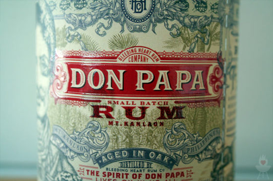 Don Papa Rum Etikett