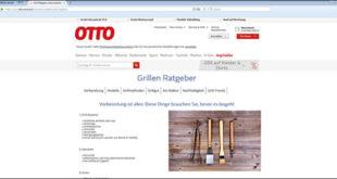 Grillratgeber OTTO Artikelbild