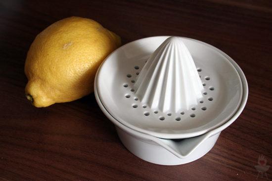 Zitronenlimonade ASA-Zitronenpresse Zitrone