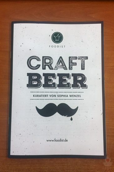 Craft Beer Booklet 2017