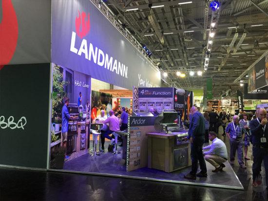 Landmann-Messestand spoga+gafa 2017