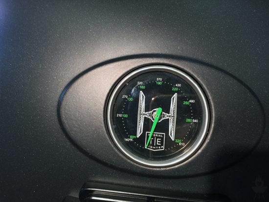 Star Wars-Grill Tisch Thermometer