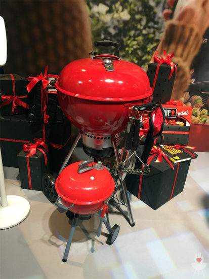 Weber Mastertouch rot Limited Edition mit Spielzeuggrill