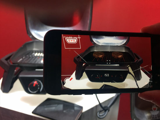 Weber Pulse 2000 Augmented Reality
