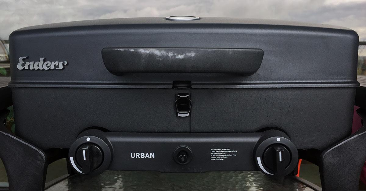 Enders Gasgrill Urban : Enders urban grill ein erster praxistest