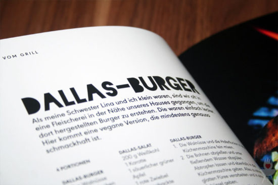 Vegan Grillen: Genial gut Rezept Dallas-Burger