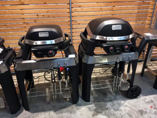 Weber Pulse Elektrogrill Pulse 1000 und Pulse 2000