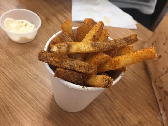 Five Guys Cajun-Fries