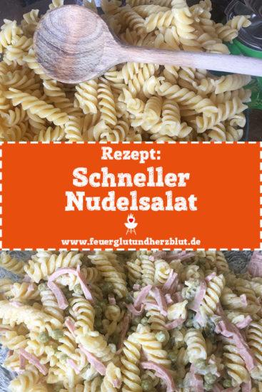 Rezept: Schneller Nudelsalat