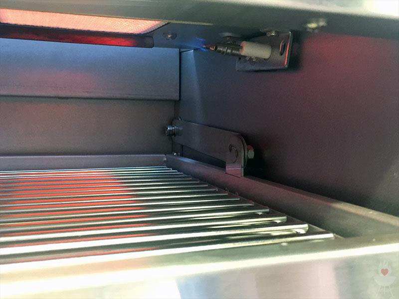 Rösle Gasgrill Zündet Nicht : Gasgrill tischgrill el fuego medison rot grillfläche cm