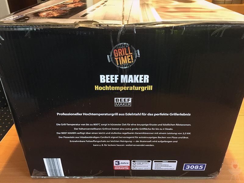 Aldi Gasgrill Defekt : Beef maker der oberhitzegrill von aldi u a feuer glut und herzblut