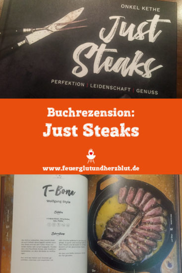 Buchrezension Just Steaks