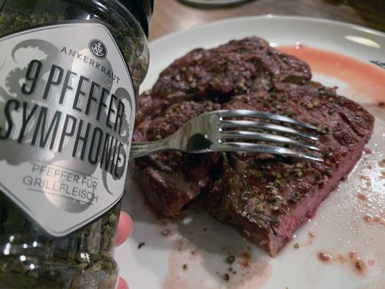 Meater Fleisch mit 9 Pfeffer-Symphonie