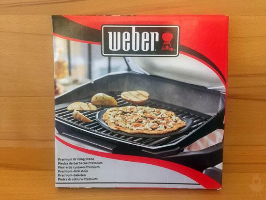 Pizza Weber PULSE Pizzastein-Verpackung