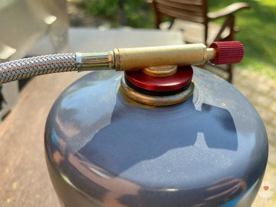 Skotti-Grill - Gaskartusche mit Schraubverschluss