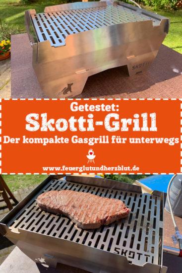 Getestet: Skotti-Grill - Der kompakte Gasgrill für unterwegs