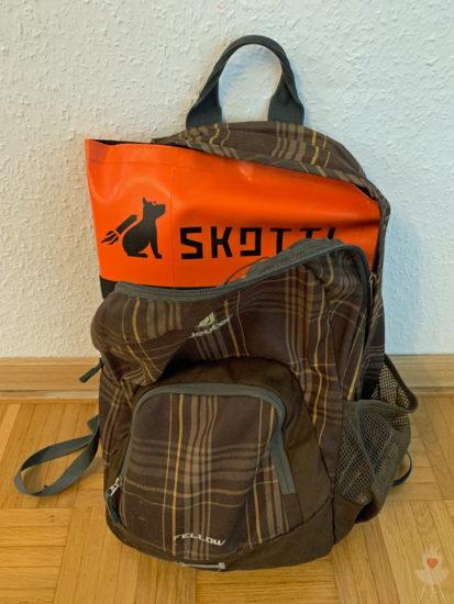 Skotti-Grill - Rucksack
