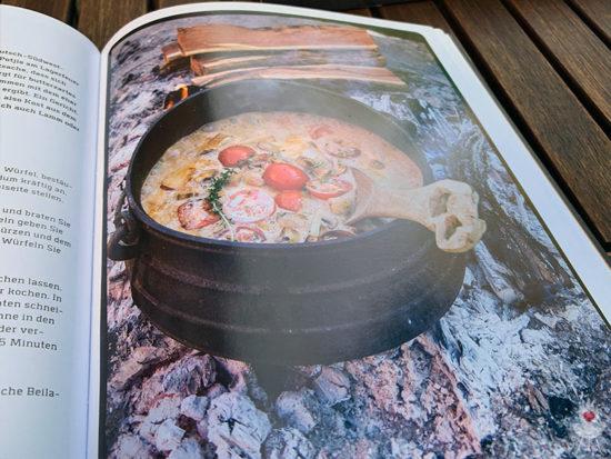 Lagerfeuerküche - Grillen, kochen, backen auf offener Flamme - Fotos Topf