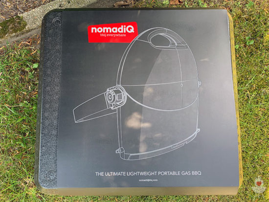 nomadiQ BBQ Grill Verpackung