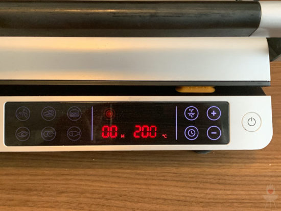 Gastroback Design BBQ Advanced Control Anzeige und Knöpfe