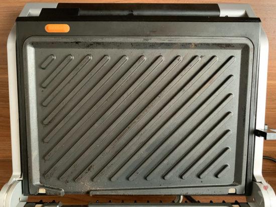Gastroback Design BBQ Advanced Control Grillplatte oben