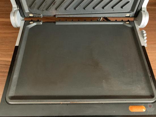 Gastroback Design BBQ Advanced Control Grillplatte unten