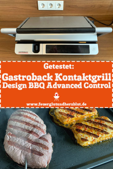 Getestet: Gastroback Kontaktgrill Design BBQ Advanced Control