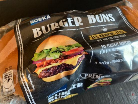 Burger Buns von EDEKA - Verpackung