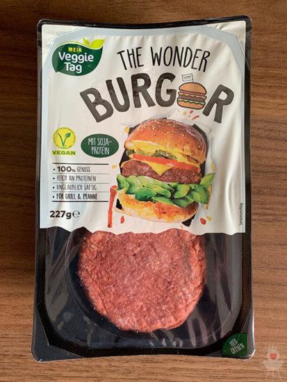 The Wonder Burger Artikelbild Verpackung