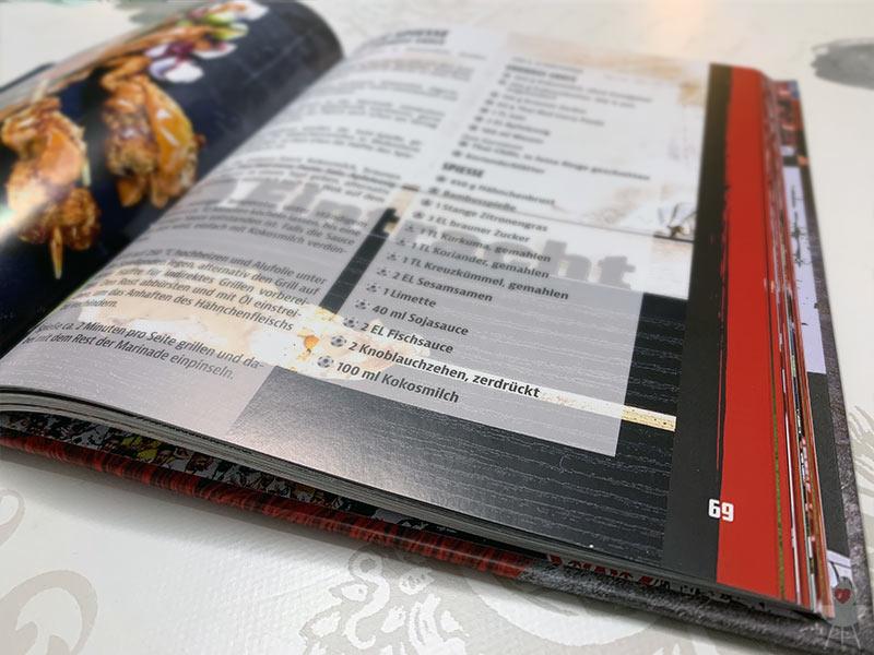 Eintracht Frankfurt Grillbuch Beispiel-Rezept