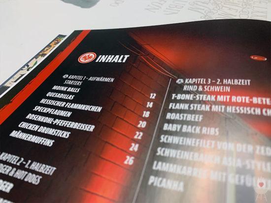 Eintracht Frankfurt Grillbuch Inhalt