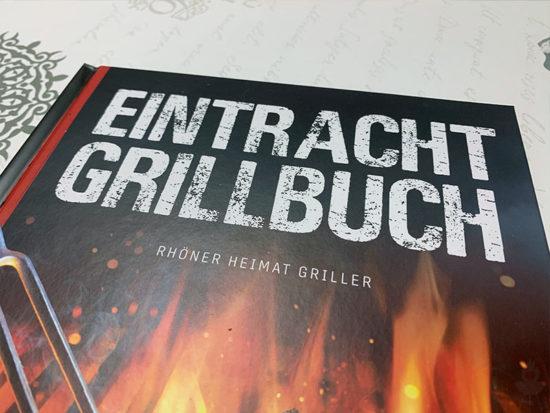 Eintracht Frankfurt Grillbuch Schriftzug
