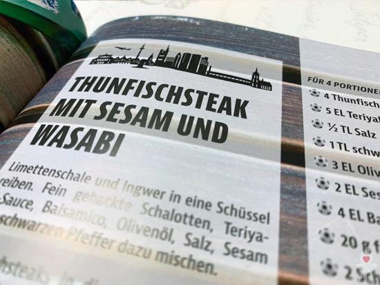 Eintracht Frankfurt Grillbuch - Thunfisch Headline