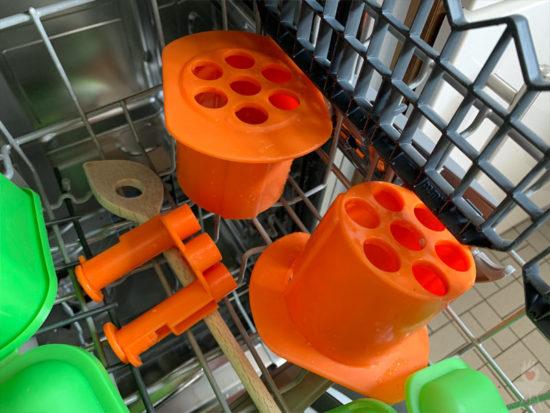 Cevapomaker in der Spülmaschine